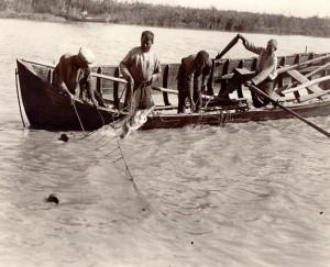 Danube Delta fishermen
