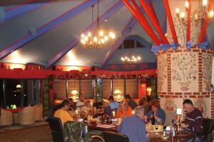 Rotonda - dinner time