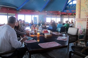 scool safari in danube delta - rotonda at enisala safari village