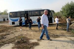 scool safari in danube delta -enisala safari village arrival
